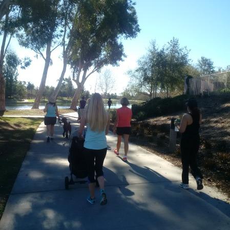 walking group Rancho Santa Margarita